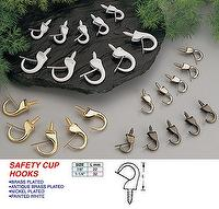 SAFETY CUP HOOKS