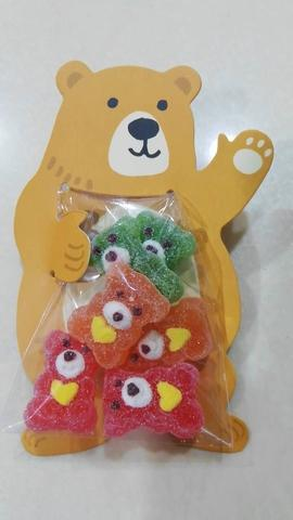 Bear shaped jelly candy