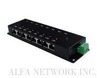 8 Ports Passive Gigabit PoE Injector
