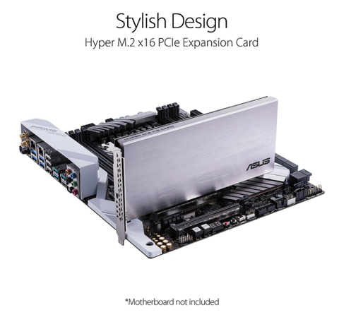 Taiwan ASUS HYPER M 2 X16 PCIe Expansion card VROC