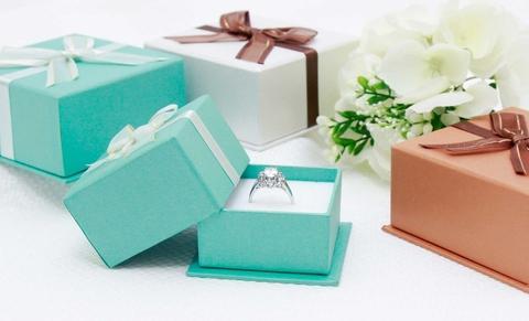 Big Precious Love Pendant Ring Box
