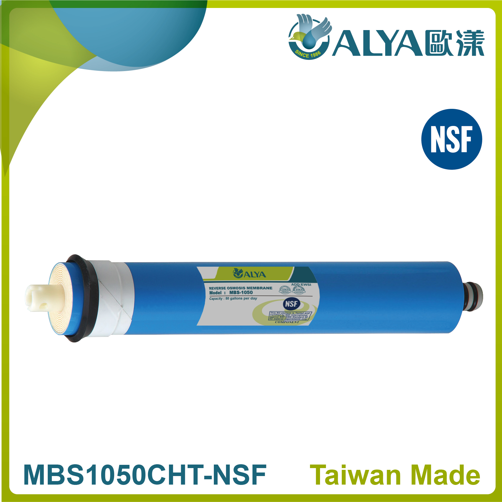 Reverse osmosis membrane-50GPD
