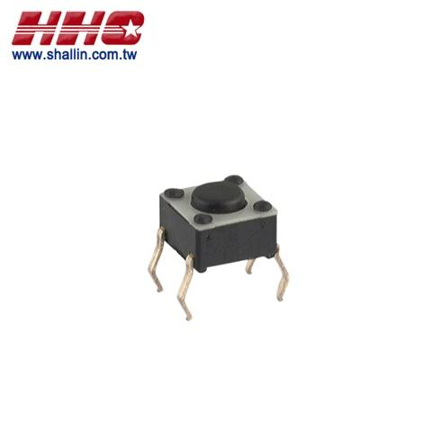 Tact switch, 6 x 6mm height: 4.3mm