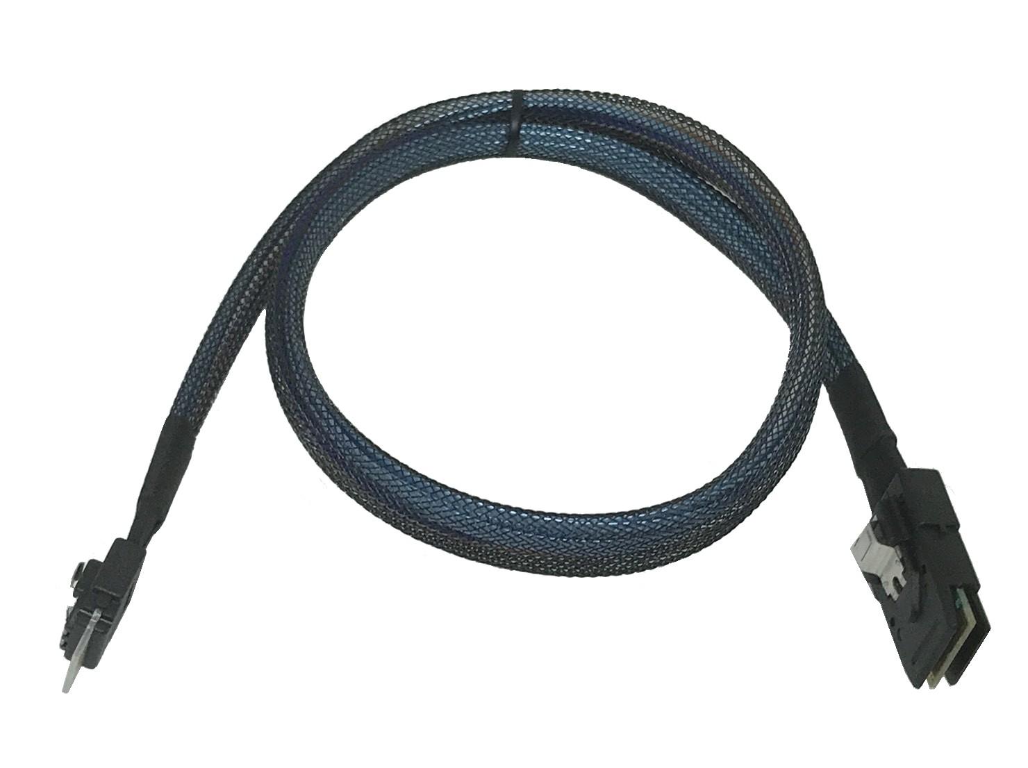 Taiwan Slimline Sas Sff 8654 To Mini Sas Sff 8087 Cable